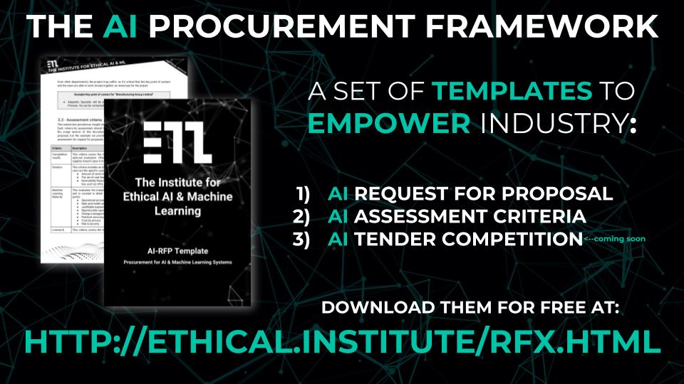 The Ai Rfx Procurement Framework For Ai Machine Learning Systems