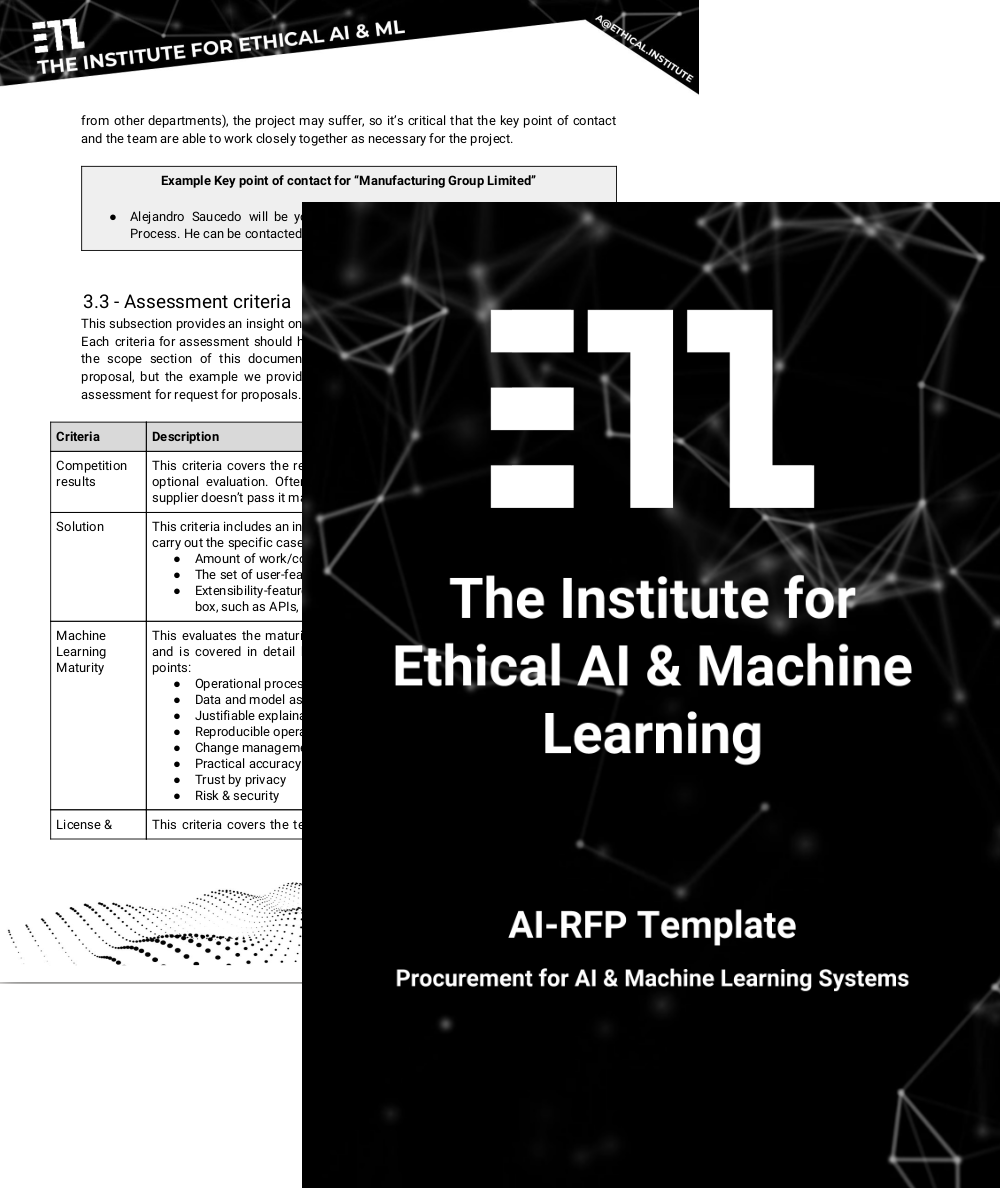 The Institute for Ethical AI & Machine Learning